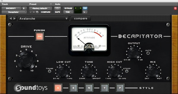 Soundtoys Decap Plug