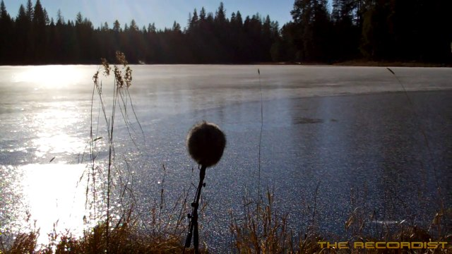 Ice Recording Muskrat Lake