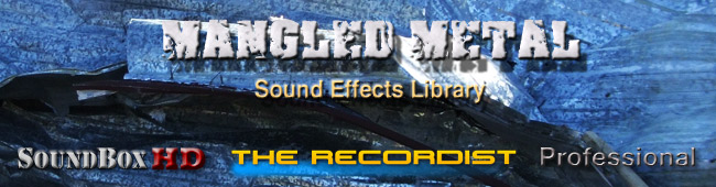Mangled Metal SFX Library